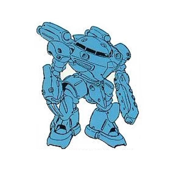 MSM-07F ズゴック・クラブ(水中戦用強化型) [Z'Gok Crab]