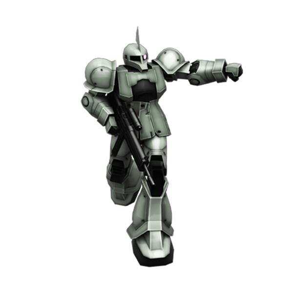 MS-05B ザクI〈旧ザク〉 指揮官機仕様  [Zaku I (Commander Type)]