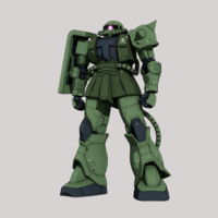 MS-06C ザクII C型 [Zaku II Type C]《THE ORIGIN》