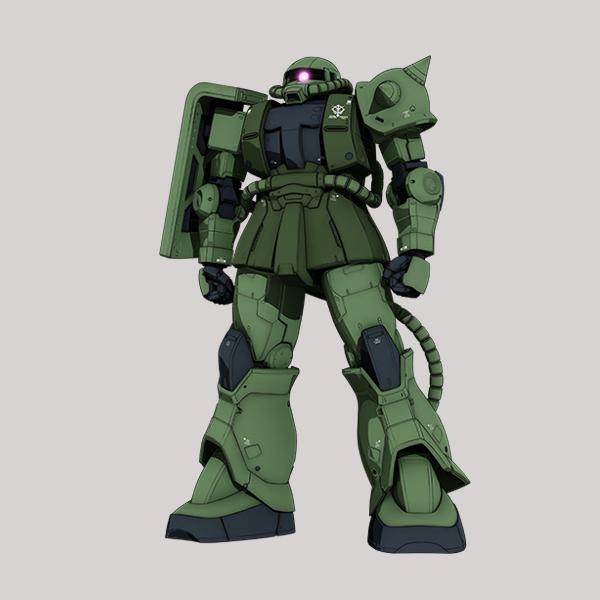 MS-06C ザクII C型 [Zaku II Type C]《THE ORIGIN》