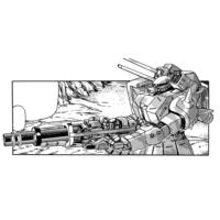 MS-06FZ ザクII改(特殊作戦仕様・中距離支援装備)
