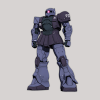 MS-05 ザクI [黒い三連星機] 《THE ORIGIN》