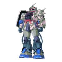 MS-06D ザク・デザートタイプ[ガリボルディ隊所属機]
