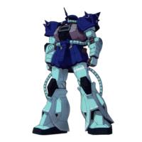 MS-06F ザクII F型 [エミコ・ジェラード専用機] [Zaku II F Type Emiko Gerrard Custom]