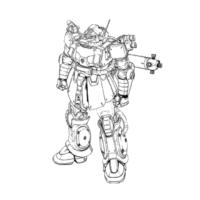 MS-06E ザク強行偵察型 [Recon Type Zaku]《サンダーボルト》