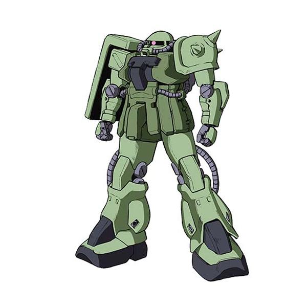 MS-06F-2 ザクII F2型 〈後期量産型ザクII〉 [Zaku II F2 Type]