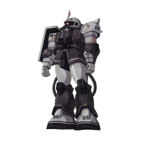 MS-06FS ザクII FS型 [エリック・マンスフィールド専用機] [Zaku II FS Eric Mansfield Custom]