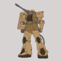 MS-06CK ザク・ハーフキャノン《THE ORIGIN》