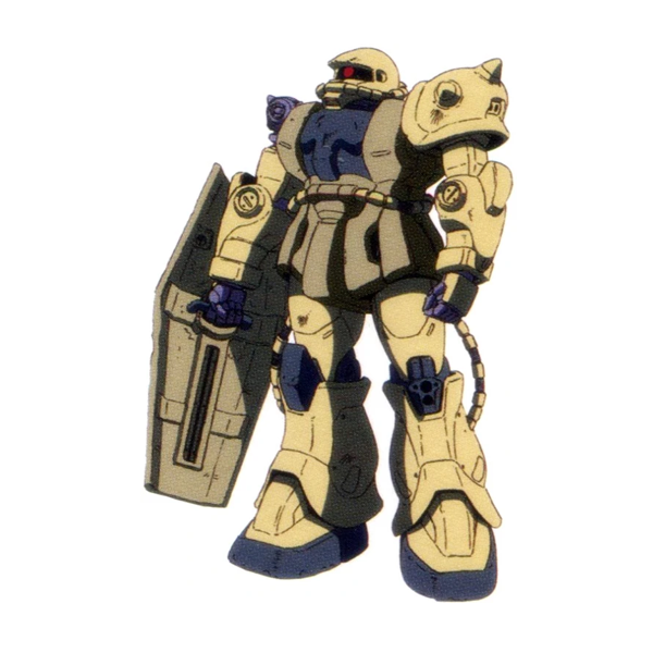 MS-06JC 陸戦型ザクII JC型[アス専用機]