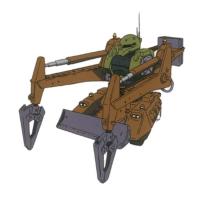 MS-06V ザクタンク(クレーンアーム仕様)