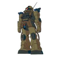 MS-06E ザク強行偵察型[地球連邦軍仕様機][Recon Type Zaku EFF colors]