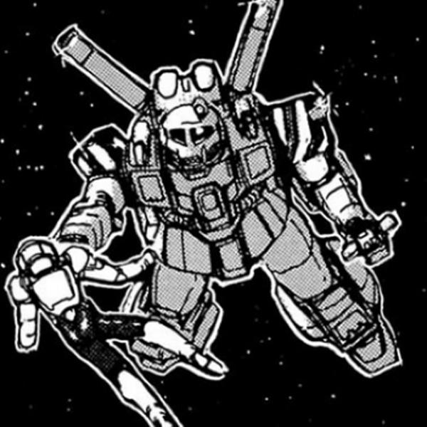MS-05 ザクワーカータイプ(不明機)