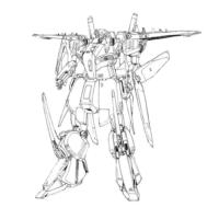 SSMS-010 ΖΖガンダム(大気圏内仕様)《近藤版》