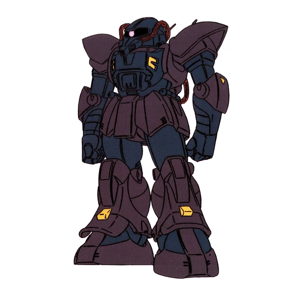MS-11 アクト・ザク[地球連邦軍仕様] [Act Zaku EFF colors]