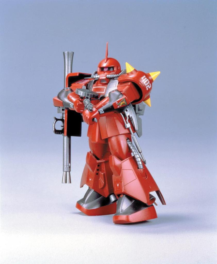 旧キット モビルスーツバリエーション(MSV) 1/144 MS-06R-2 ザクII ジョニー・ライデン少佐機 [Mobile Suit Variations Johnny Ridden's Zaku II]