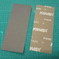 マニア模型オリジナル コバックス NEXT耐水ペーパー P400 短冊(230×90mm) 1枚 公式画像1