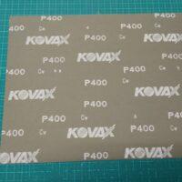 マニア模型オリジナル コバックス NEXT耐水ペーパー P400 大判(230×280mm) 1枚 公式画像1