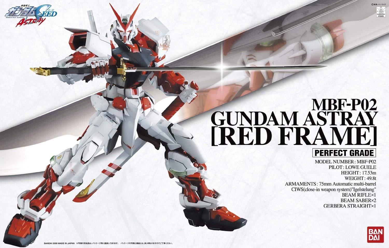PG 1/60 MBF-P02 ガンダムアストレイ レッドフレーム [Gundam Astray Red Frame]