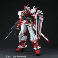 PG 1/60 MBF-P02 ガンダムアストレイ レッドフレーム [Gundam Astray Red Frame] 素組画像