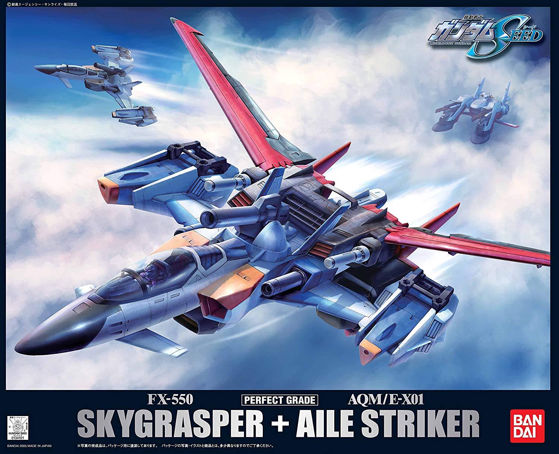 PG 1/60 FX-550+AQM/E-X01 スカイグラスパー + エールストライカー [Skygrasper + AQM/E-X01 Aile Striker]