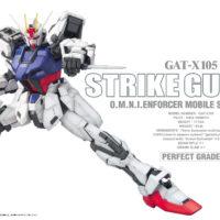 PG 1/60 GAT-X105 ストライクガンダム [Strike Gundam] パッケージ
