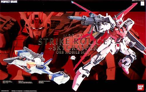 PG 1/60 MBF-02 ストライクルージュ + スカイグラスパー [Aile Strike Rouge + FX-550 Skygrasper] 0138257