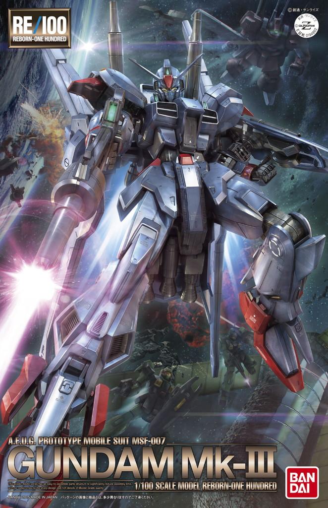 RE/100 1/100 MSF-007 ガンダムMk-III [Gundam Mk-III]