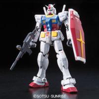 RG 001 1/144 RX-78-2 ガンダム [Gundam] 素組画像