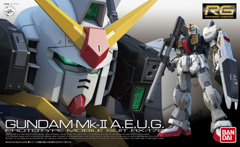 RG 1/144 RX-178 ガンダム Mk-II(エゥーゴ仕様) [Gundam Mk-II A.E.U.G.] 0176319 4543112763198 5061598 4573102615985