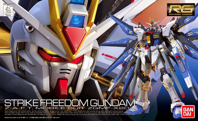 RG 1/144 ZGMF-X20A ストライクフリーダムガンダム [Strike Freedom Gundam] 0185139 4543112851390