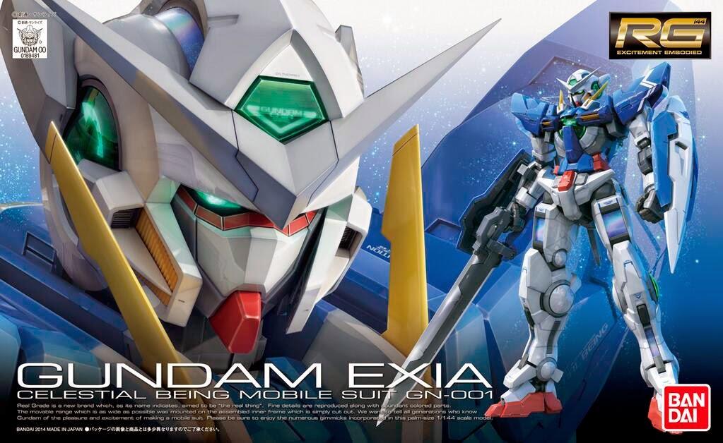 RG 1/144 GN-001 ガンダムエクシア [Gundam Exia]