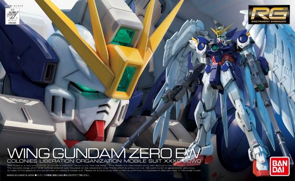 RG 1/144 XXXG-00W0 ウイングガンダムゼロ EW [Wing Gundam Zero EW] パッケージアート