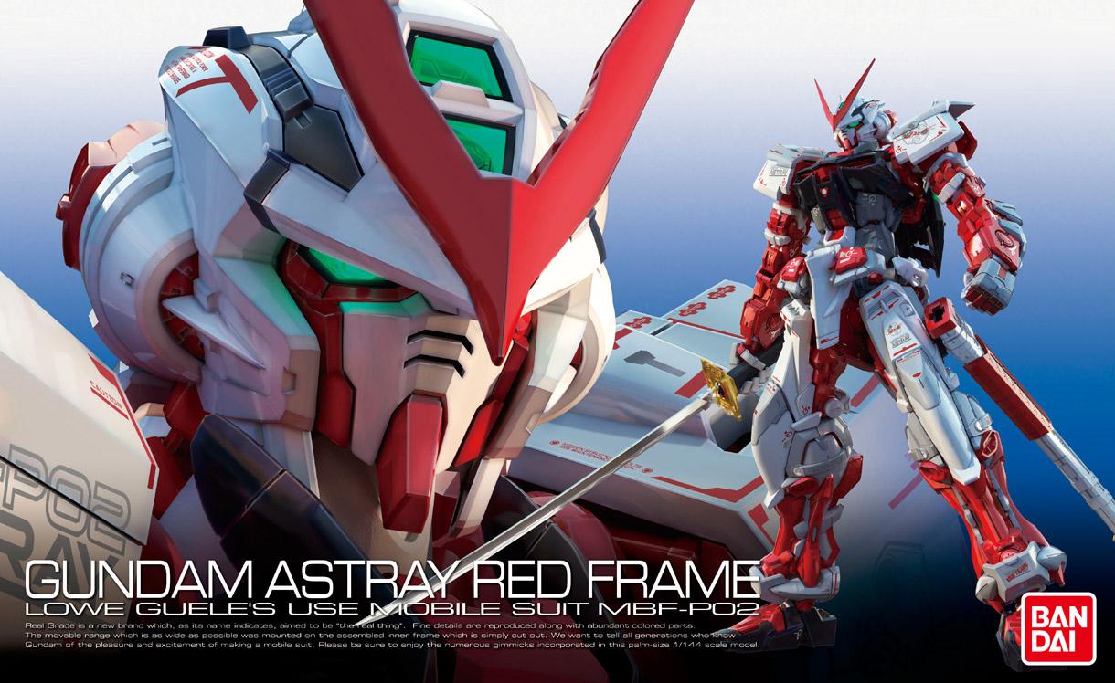 RG 1/144 MBF-P02 ガンダムアストレイレッドフレーム [Gundam Astray Red Frame] 0200634