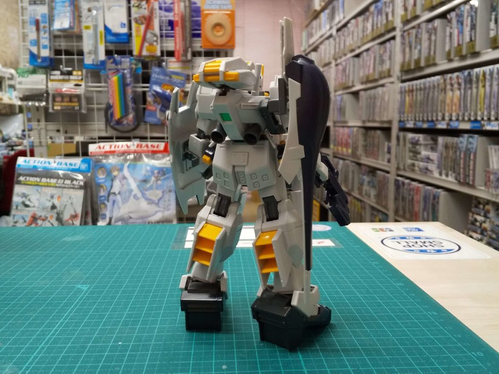 RX-121-2 ガンダムTR-1〈ヘイズル・アウスラ〉(タイプ1) [Gundam TR-1 (Hazel Owsla)] 背面