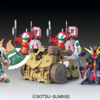SDガンダム 三国伝 031 真 典韋アッシマー・賈詡アシュタロン 攻城兵器セット(シン テンイアッシマー  カクアシュタロン) 公式画像1