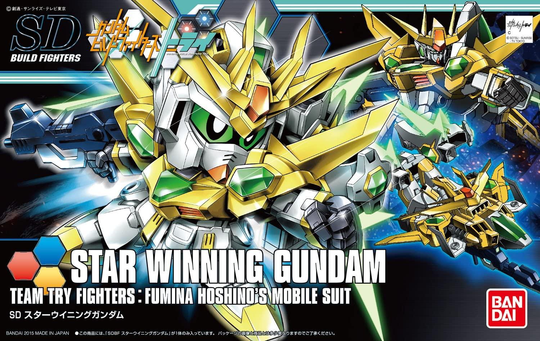 SDBF SD-237S スターウイニングガンダム [Star Winning Gundam] 0194866 5055439 4573102554390 4543112948663