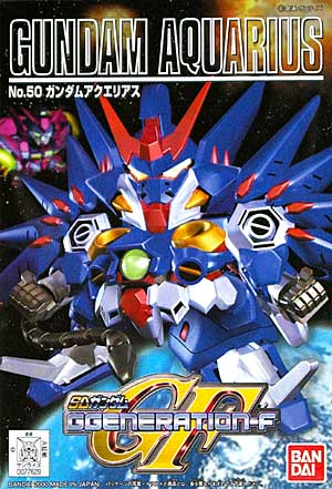 SDガンダム GジェネレーションF(GGENERATION-F) 050 OZ-14MS ガンダムアクエリアス [Gundam Aquarius] 0077629 5060810