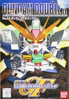 SDガンダム GジェネレーションF(GGENERATION-F) 044 GX-9901-DX ガンダムダブルエックス [Gundam Double X] 0077074 5060804 4573102608048 4902425770741