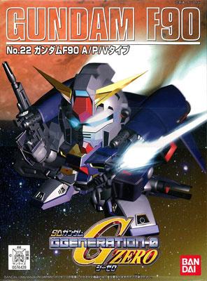 SDガンダム GジェネレーションZERO(GGENERATION-0) 021 F91 ガンダムF91(V.S.B.R.可動タイプ) [Gundam F91 (V.S.B.R. Type)]