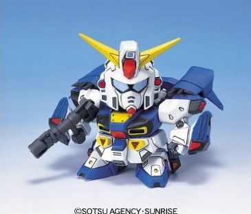96570SDガンダム GジェネレーションZERO(GGENERATION-0) 021 F91 ガンダムF91(V.S.B.R.可動タイプ) [Gundam F91 (V.S.B.R. Type)]