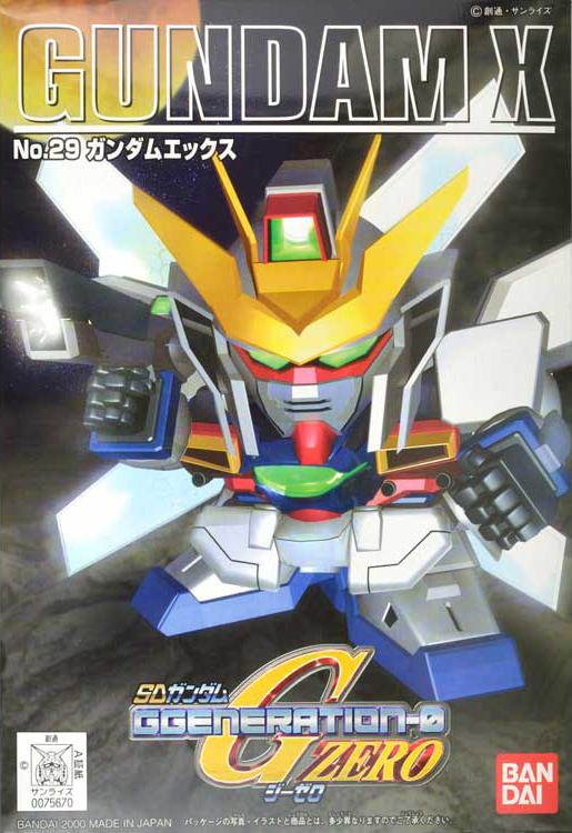 SDガンダム GジェネレーションZERO(GGENERATION-0) 029 GX-9900 ガンダムエックス [Gundam X] 0075670 5060794 4573102607942 4902425756707