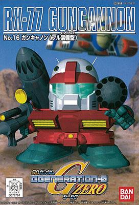SDガンダム GジェネレーションZERO(GGENERATION-0) 016 RX-77 ガンキャノン(フル装備型) [Guncannon (Full Equipment)]