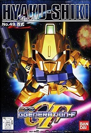 SDガンダム GジェネレーションF(GGENERATION-F) 049 MSN-00100 百式 [Hyaku Shiki] 0077171 5060809