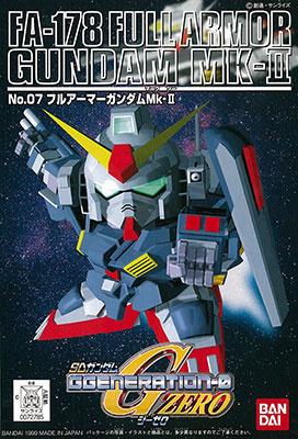 SDガンダム GジェネレーションZERO FA-178 フルアーマーガンダムMk-II パッケージアート