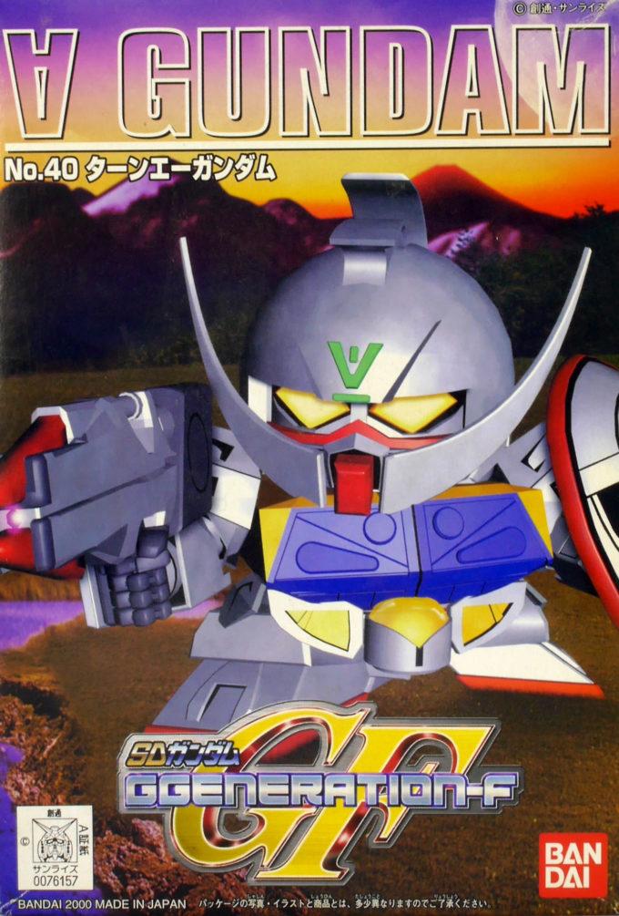 SDガンダム GジェネレーションF(GGENERATION-F) 040 WD-M01 ターンエーガンダム [∀ Gundam] 0076157 5060803