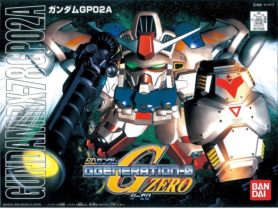 SDガンダム BB戦士 202 RX-78GP02A ガンダムGP02A [Gundam GP02A] パッケージアート