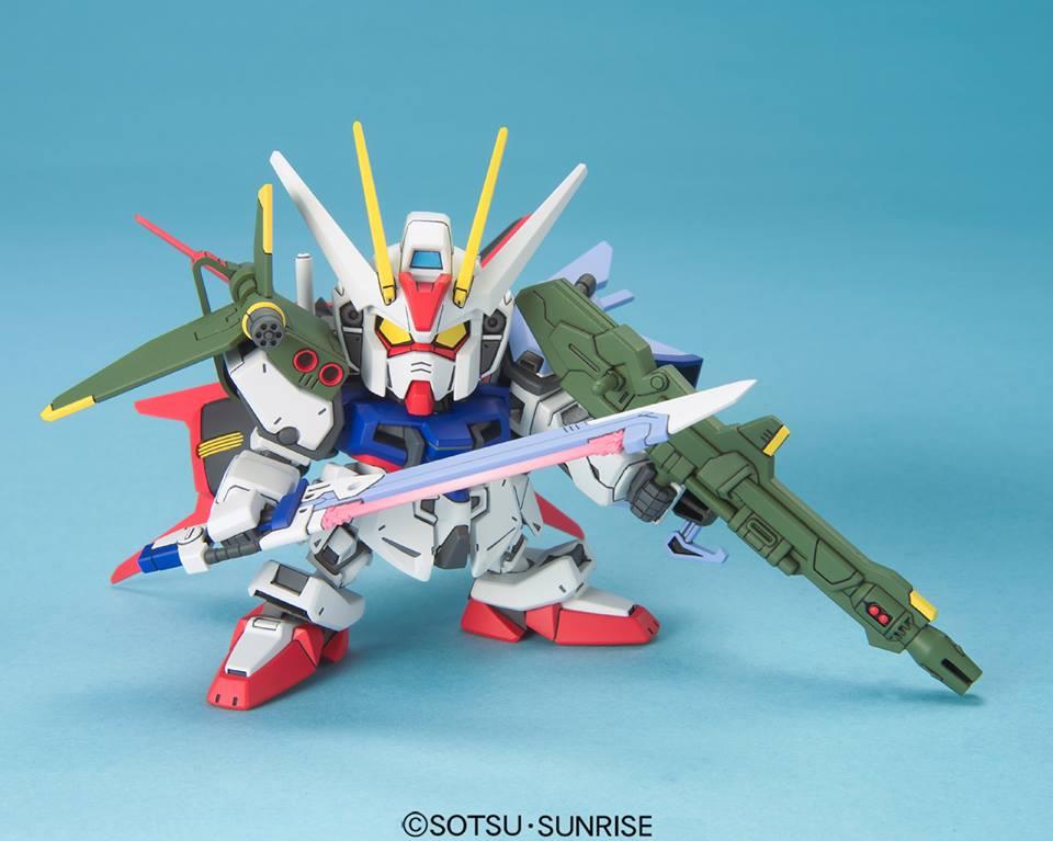 GAT-X105+AQM/E-X03 ランチャーストライクガンダム [Launcher Strike Gundam]