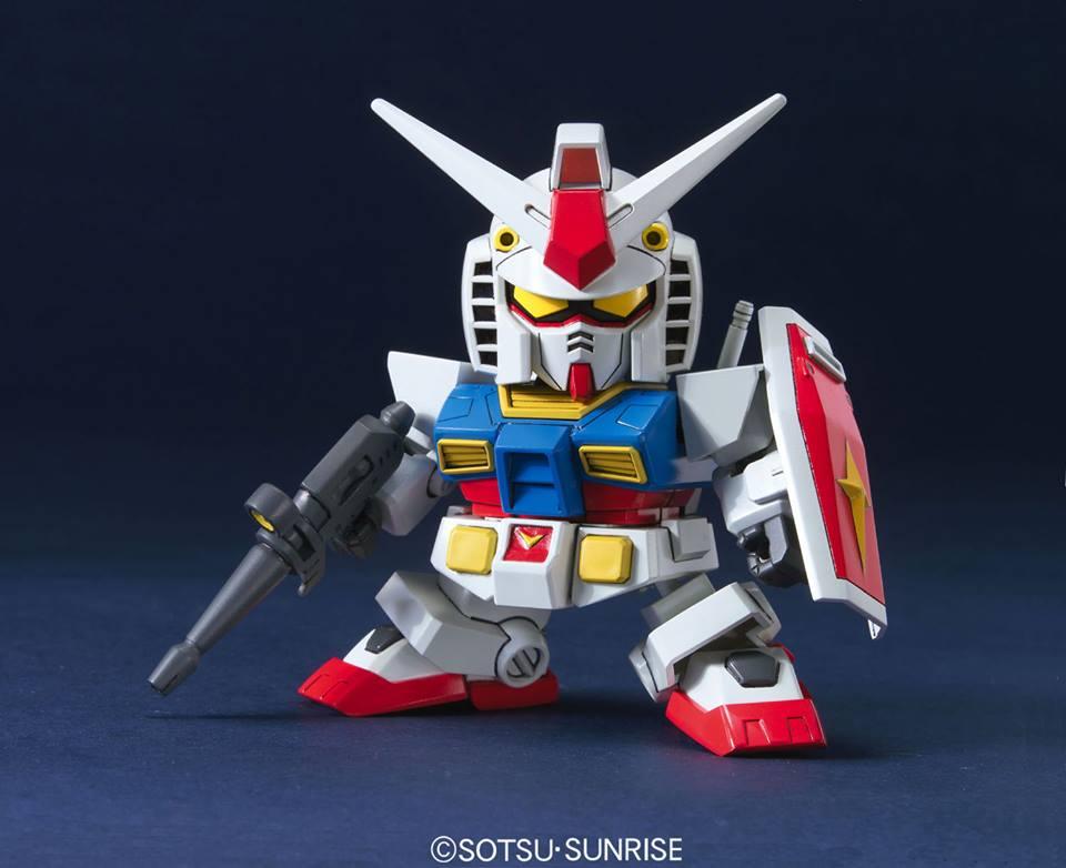 SDガンダム BB戦士 RX-78-2 ガンダム(アニメカラー)