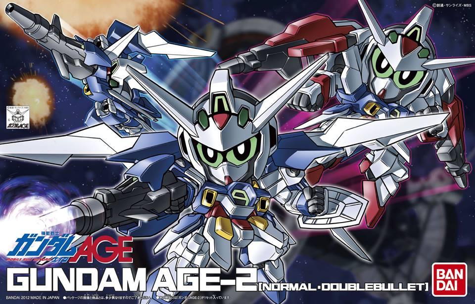 SDガンダム BB戦士 ガンダムAGE-2