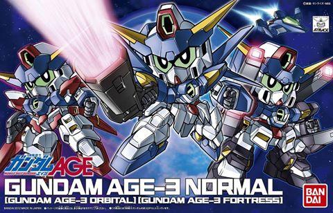 SDガンダム BB戦士 ガンダムAGE-3